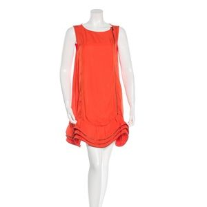 MIU MIU Silk Zip - Accented Night Out Dress